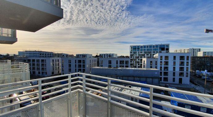 *NEUBAU*ERSTBEZUG*Schlosspark-Nymphenburg* 2-Zimmer-Wohnung 61qm - 4. OG - Balkon und Loggia - Alpen