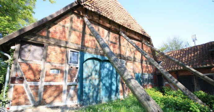 Traumhaftes Hofgrundstück in der Ortsmitte von Bissendorf