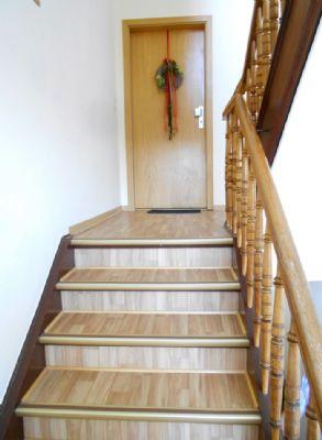 Treppenhaus - hell und freundlich