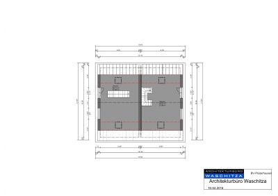 Grundrissplan Dachgeschoss