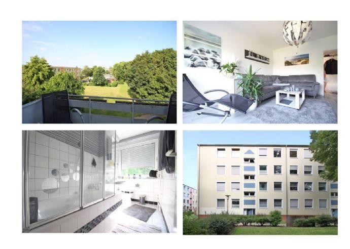 Salzgitter/Krähenriede: gepflegte 2-Zimmer Wohnung mit Balkon
