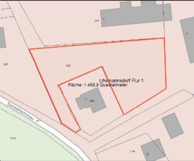 *** ca. 1.200 m² Bauerwartungsland in ruhiger ländlicher Lage