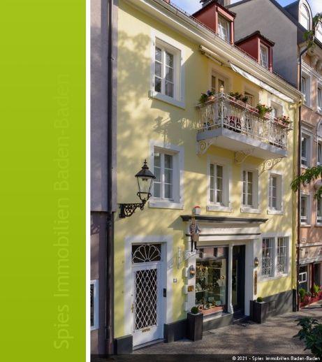 Denkmalgeschütztes Wohn- und Geschäftshaus in Innenstadtlage