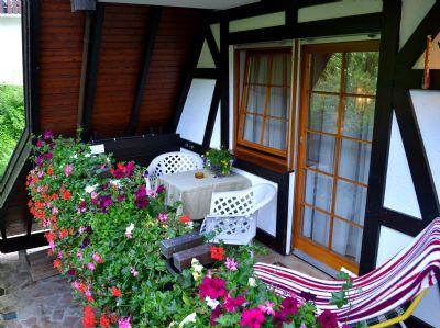 Haus Bachschwalbe -- Ferienwohnung Rotkehlchen