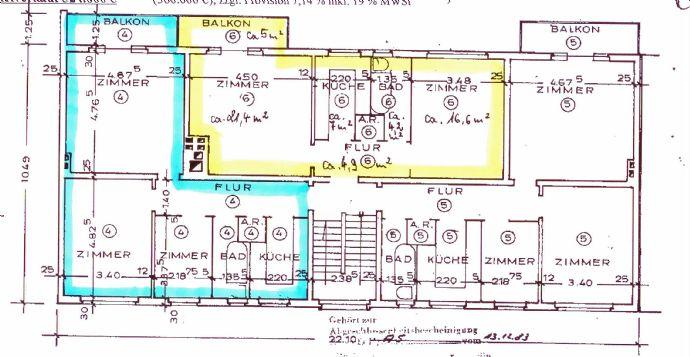 Bild 9 Von 9: BLAU ETW 04 2,5 Zi;; GELB ETW