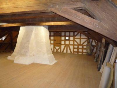 Dachgeschoß mit Kamin