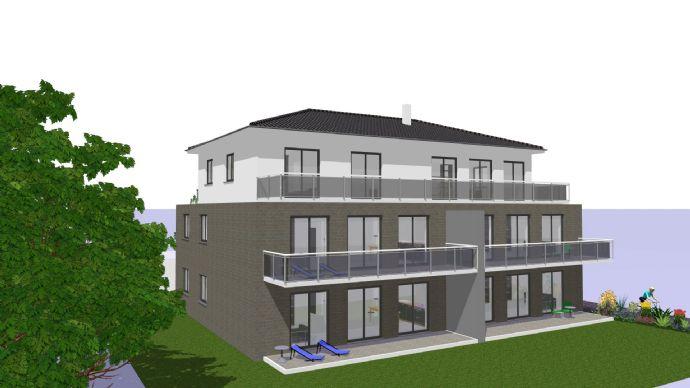 Exklusives Wohnen in top Lage im OG links! Barrierefreie-Neubau-Wohnung in Porta Westfalica