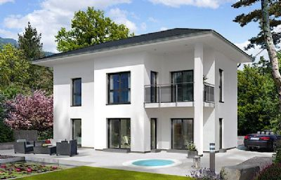 Modernes haus mit idealer raumaufteilung einfamilienhaus for Modernes haus raumaufteilung