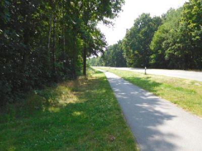 .....und einen Radweg.....