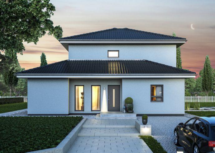 Stilvolles und modernes Wohnen - Bauen Sie Ihre Stadtvilla in exklusiver Lage
