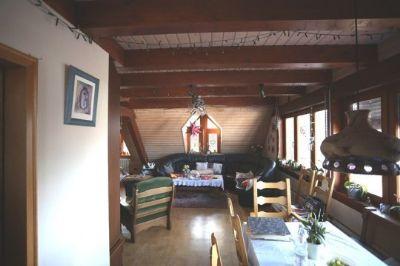 Wohn-Esszimmer Maisonette -Woh