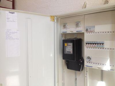 Sicherungskasten/Stromzähler EG