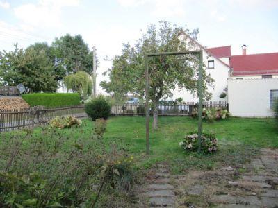 das hintere Gartengrundstück