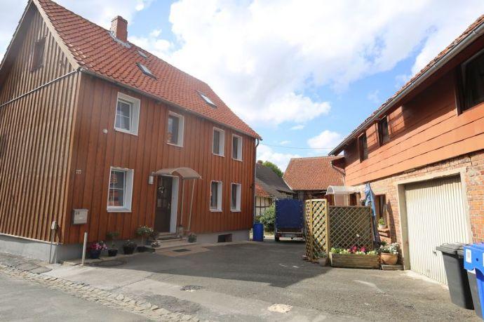 Seesen OT - Einfamilienhaus mit Nebengebäude