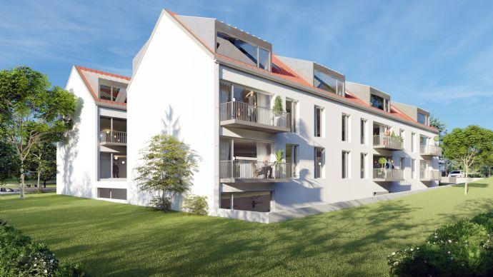 MIETKAUF mit Probewohnen - Neubau mit einzigartiger Besonderheit: Balkon/Terrasse / KfW 55