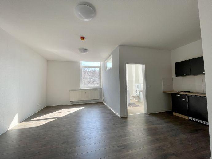 1 Raum Wohnung , Cottbus Mitte, ab sofort, Uni nah, möbliert