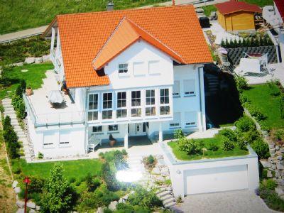 Luftbildaufnahme Einfamilienhaus Schweiz