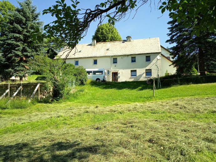 Freistehendes Einfamilienhaus mit toller Aussicht in Pockau
