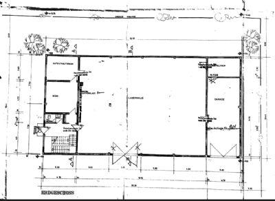 Erdgeschoß - Halle