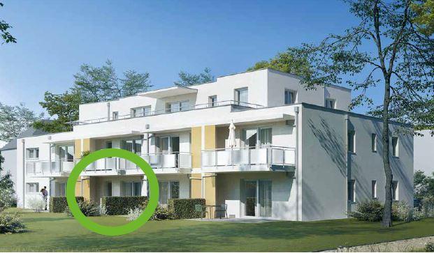 Qualität für Ihre Investition: Moderne 2-Zimmer-Wohnung mit Gartenanteil