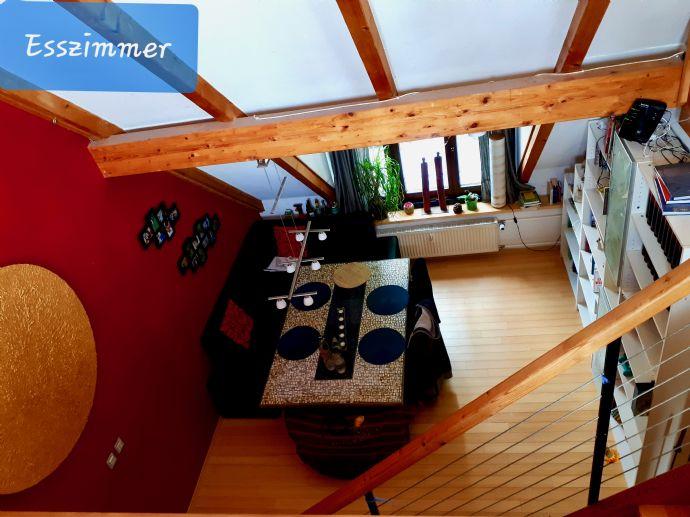 Lichtdurchflutete offene Maisonette im 3-Familienhaus in MA-Almenhof - Direktvermietung