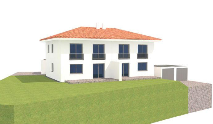 Neubau-Doppelhaushälfte in Vilshofen - Lindahof