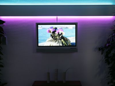 TV mit SAT, Kabel, ...