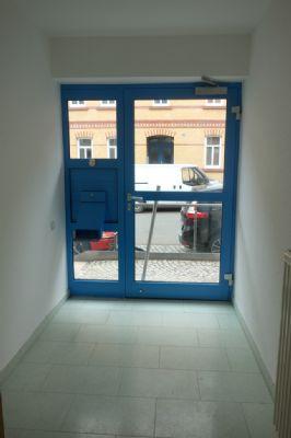 Eigener Eingangsbereich der Wohnung