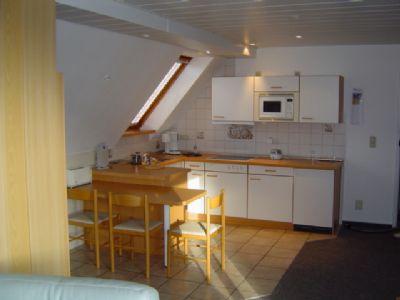 Eine von 6 Apartmentküchen