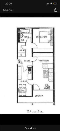 Lichtdurchflutete Räume - 2 Zimmer mit Balkon - saniert!