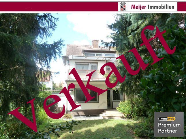 *** verkauft *** Doppelhaushälfte in ruhiger Lage von Neu-Isenburg/Westend