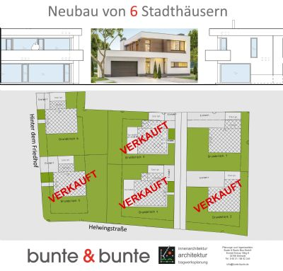 6 Grundstücke in ruhiger Lage zu verkaufen!