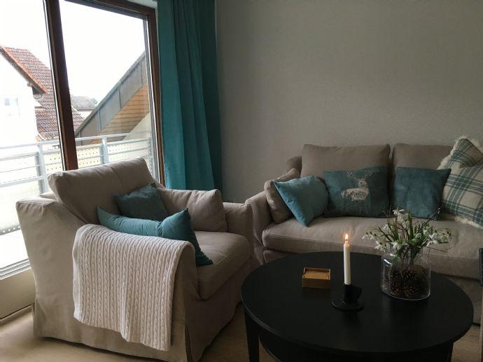 2-Zimmer-Wohnung mit Balkon, möbliert in Bad Rappenau!