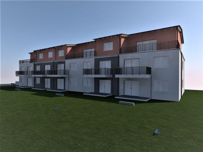 Lorsch - Neubau- 4-Zimmer Erdgeschosswohnung, Tageslichtbad, Terrasse mit Garten, stufenloser Hauszugang