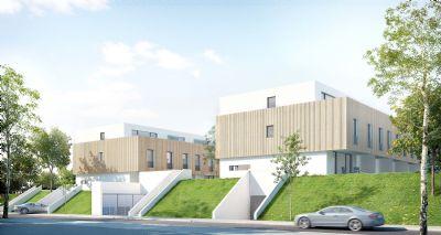 townhouse anlage mit 14 modernen und energieeffizienten hauseinheiten. Black Bedroom Furniture Sets. Home Design Ideas
