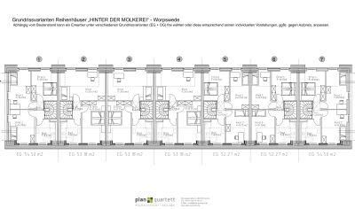 Grundrissvarianten Dachgeschoss