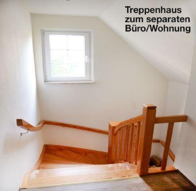 Obergeschoss-Treppenhaus-Büro
