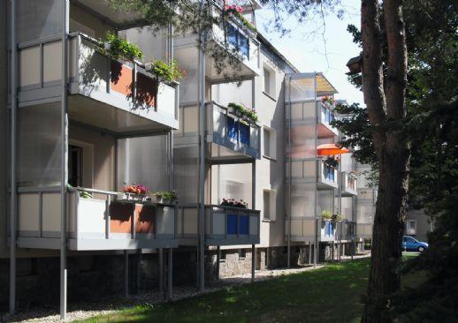 2,5-Raum-Wohnung mit Balkon und Tageslichtbad