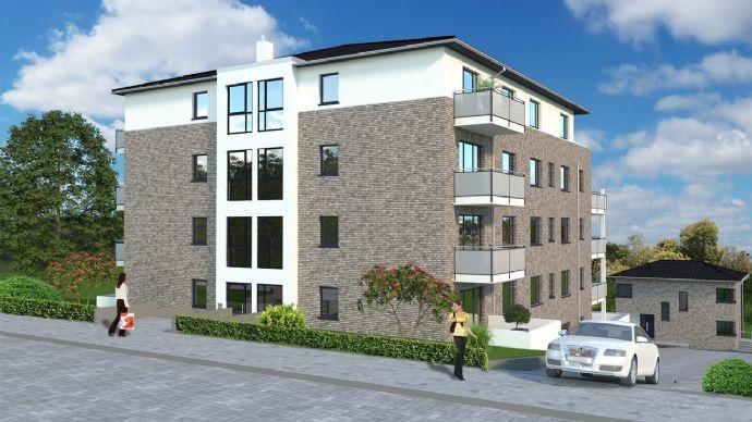 richtig große Terrasse - 3 Zimmer Neubau, Tiefgarage