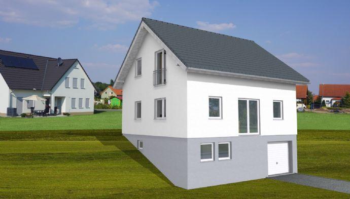 Neubau eines schlüsselfertigen KFW40 Einfamilienhauses in Wieden