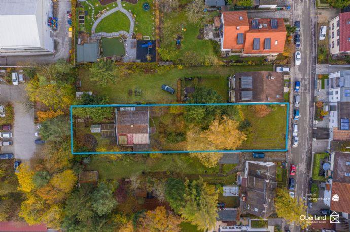 1257m² Grundstück in Forstenried perfekt für ein Mehrgenerationenhaus