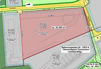 Lageplan 35.000 m²