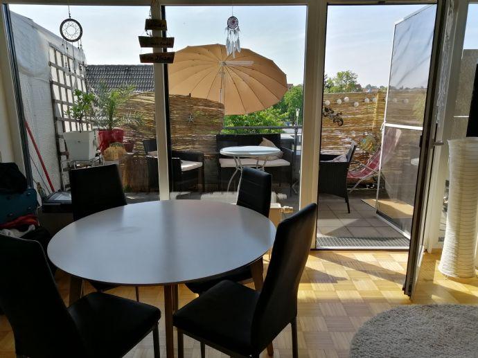Würselen - 1-Zimmer-Wohnung mit Terrasse und EBK
