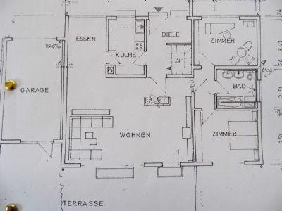 EG m.d. 4 m hohen Wohnzimmer