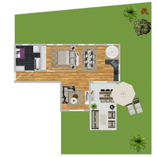 NEUBAU IN-Süd 4-Zi-Whg, 102,81qm mit integriertem Keller und Terrasse (Whg1)