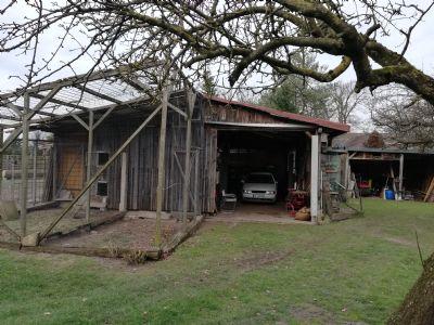 Voliere2, Hühnerstall,Werkraum mit Hebebühne-Bild1