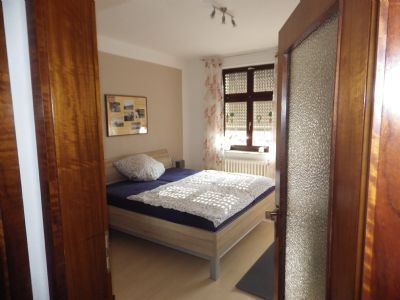 Schlafzimmer einer Wohnung im 1.OG