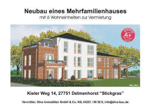 Hochwertige und seniorengerechte Mietwohnungen am Kieler Weg, Del