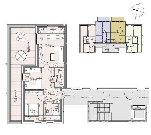 Neubau! - Herrliche 2 Raum-DG Wohnung in Lohbrügge