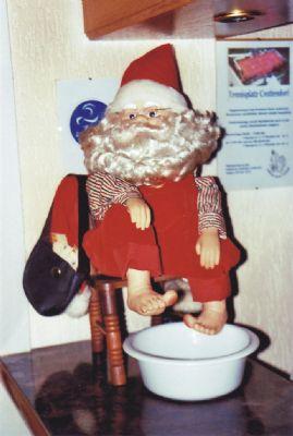 Der Weihnachtsmann bei Dr. Kneipp